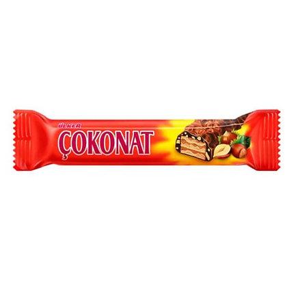 Ülker Çokonat Γκοφρέτα σοκολάτας φουντουκιού
