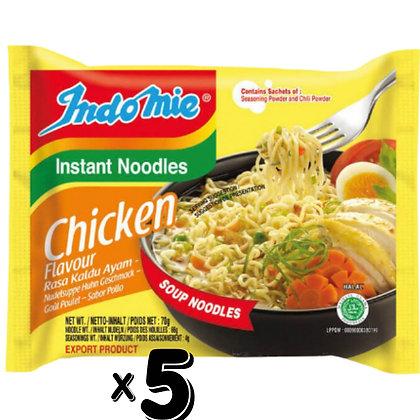 Indo Mie Noodle Chicken X5pcs