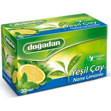 Dogadan Πράσινο τσάι μέντας λεμόνι
