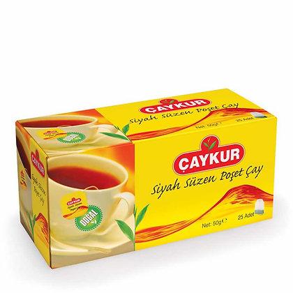 ÇAYKUR Süzen Poşet Çay 25'lik