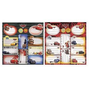 Etiket Arabalar 2li Set 12li