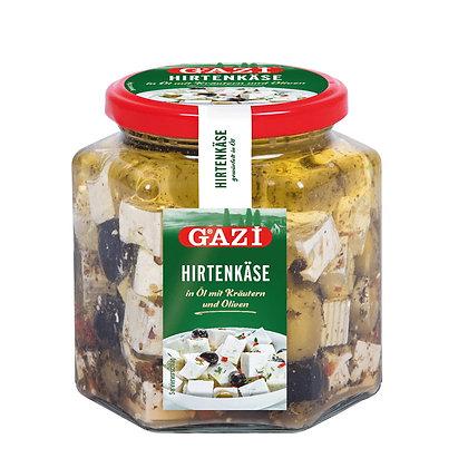 Gazi Küp Peynir Zeytinli 350gr