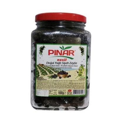 Pınar Φυσικό Λιπαρό Μαυρο Ελιες 1 κιλό