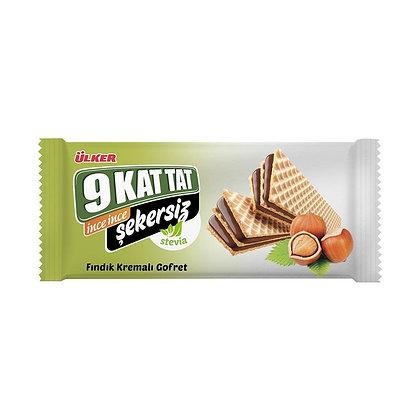 Ülker 9 Kat Tat Γκοφρέτα με φουντούκι στεβια