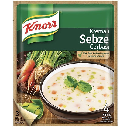 Knorr Kremali Sebze Corbası