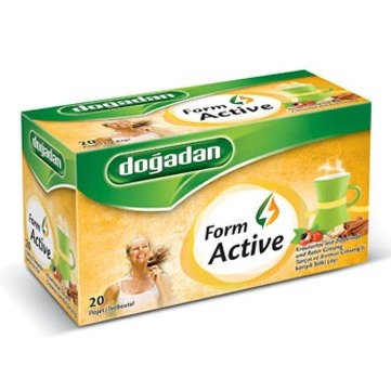 Dogadan Form Active τσαγιού 20 τμχ.