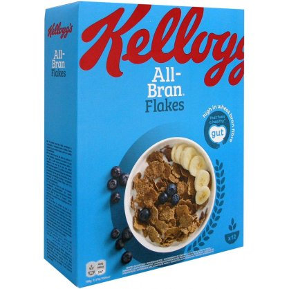 Kellogg's All Bran Flakes 375gr