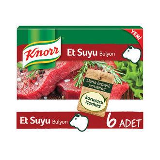 Knorr Et Suyu Bulyon 6'lı Paket