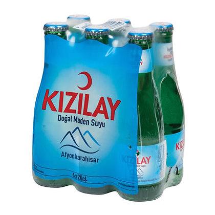 Μεταλλικό νερό Kizilay 6 τμχ.