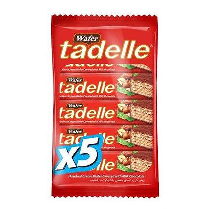 Tadelle Σοκολάτα Γκοφρέτα 35gr (4 + 1Δωρεάν)