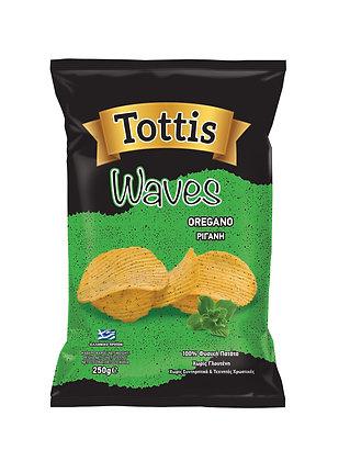 Tottis Chips Kekikli 250gr