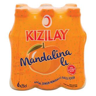 Kizilay μεταλλικού νερού με μανταρίνι 6 τμχ