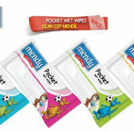 συσκευασία τσέπης για υγρά μαντηλάκια 3τμχ