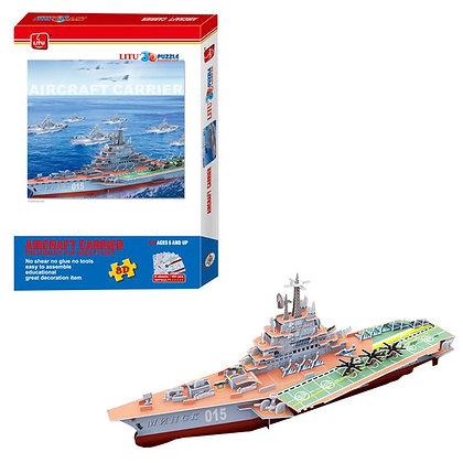 3d Puzzle Uçak Gemisi