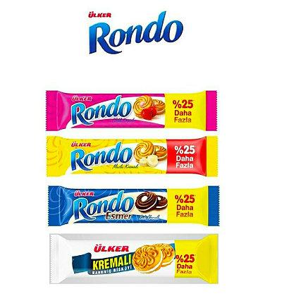 Ülker Rondo Kremalı Bisküvi (3+1Bedava)