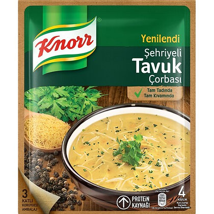 Knorr Sehriyeli Tavuk Corbasi