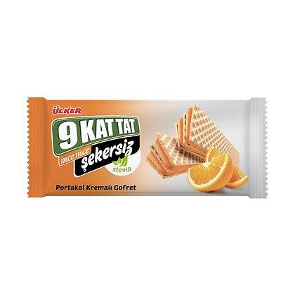 Ülker 9 Kat Tat Portakal Gofret Stevia