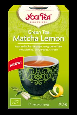 Yogi Tea Matcha with Lemon