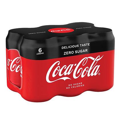 Coca Cola Zero Sugar 6'li