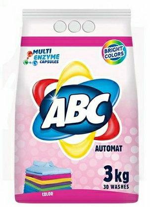 ABC Automat Toz Deterjan Renkliler Icin 3kg