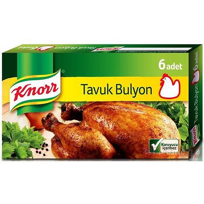 Knorr κοτοπουλο Bouillon 6 κομμάτια