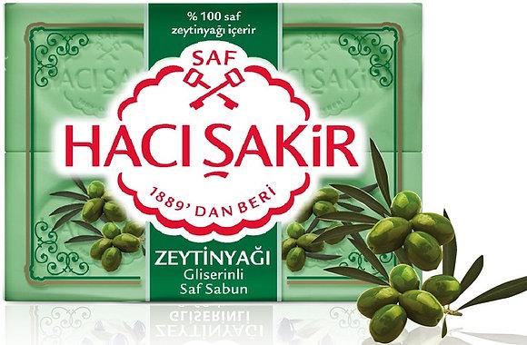 Hacı Şakir Saf Sabun Zeytinyağlı 4lu