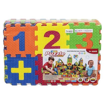 Puzzle Öğretici Zemin Kauçuk 36 Parça 27x15x5cm