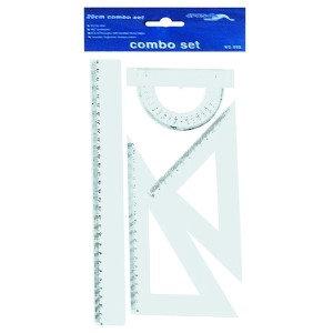 Geometri Cetvel Seti 30cm