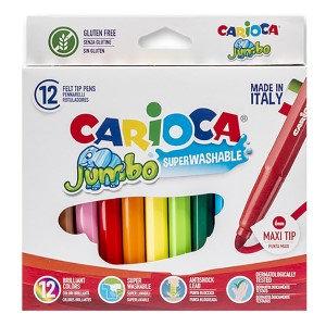 Keceli Kalem Jumbo 12 Renk Kalın Uclu 6mm