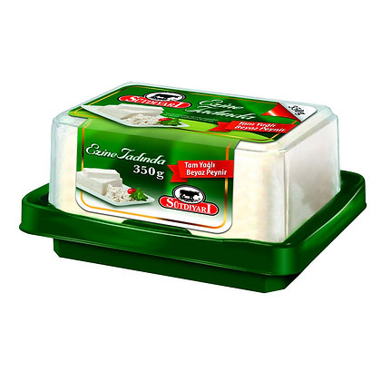 Sütdiyarı Ezine Tadinda Tam Yağlı Peynir 350gr
