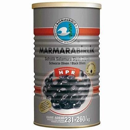 Marmarabirlik Hiper Salamura Siyah Zeytin 800gr (Large)