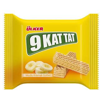 Ülker 9 Κατ Wafers με Μπανάνα 39γρ