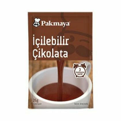 Pakmaya Sıcak Çikolata Tekli Bardak Paket 26gr