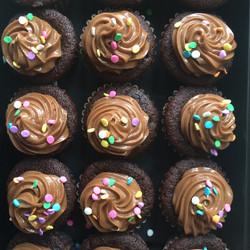 Chocolate Sprinkle Cupcakes