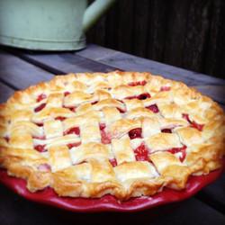 Rhubarb Pie, Strawberry rhubarb pie