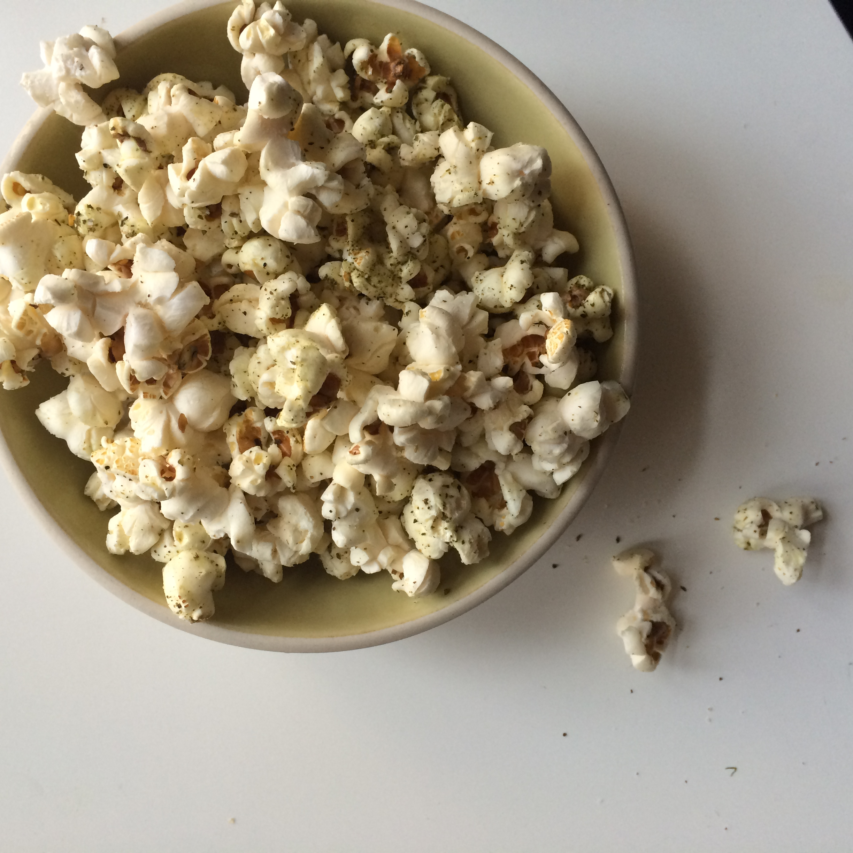 Spiced Popcorn, Za'atar Popcorn