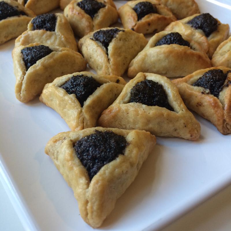 Hamantaschen Purim Dessert