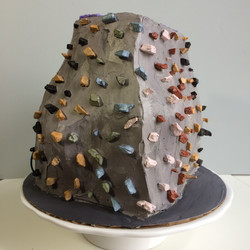 Climbing Wall Cake, Carved Cake