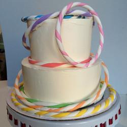 Hula Hoop  Cake