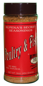 Rupena's Poultry & Fish Seasoning