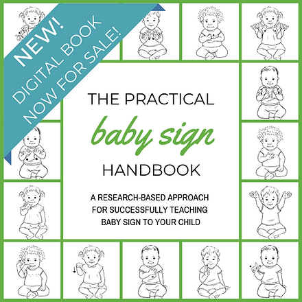 baby sign, the practical baby sign handbook, baby sign language