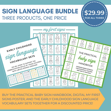 Sign Language Product Bundle