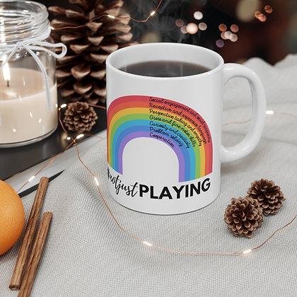 #notjustplaying Coffee Mug