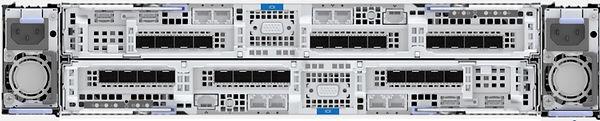 IBM Storwzie V5100 rear