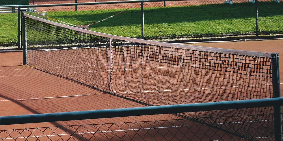 Eerste tennisdag