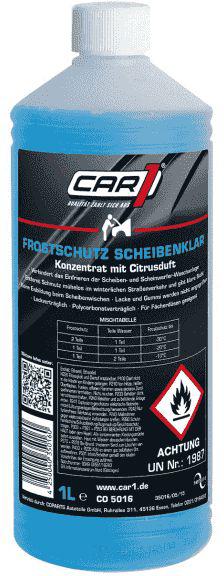 CAR1 Scheibenfrostschutz Konzentrat 1 l