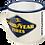 Thumbnail: Goodyear - Logo White Emaille-Becher 8 x 8 x 8 cm