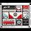 Thumbnail: VW - Meet The Classics Magnet-Set (9teilig) 7 x 9,3 x 2 cm