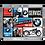 Thumbnail: BMW - Motorcycles Magnet-Set (9teilig) 7 x 9,3 x 2 cm