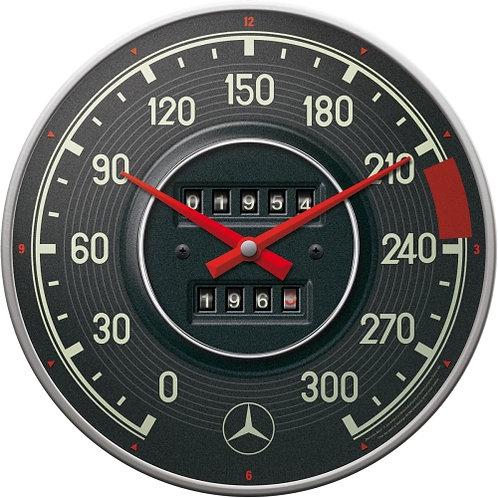 Mercedes-Benz - Tacho Wanduhr 31x6x31